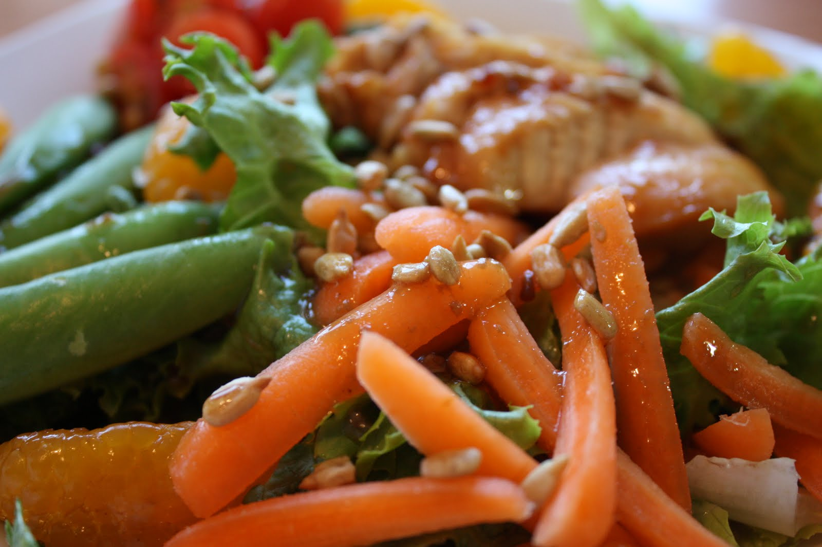warm, moist chicken, and sweet red bell peppers (this time I had ...
