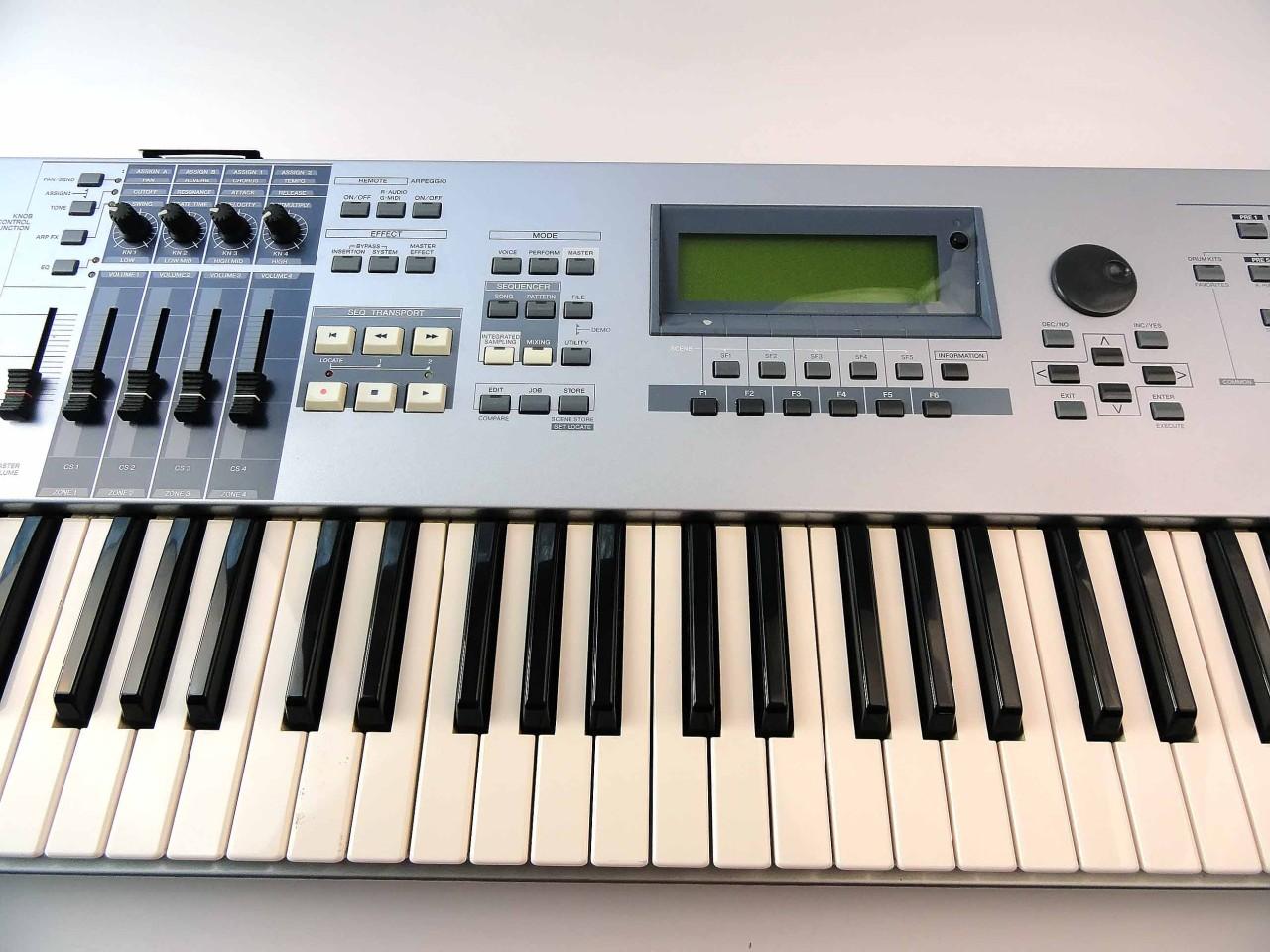 matrixsynth b yamaha motif es6 music production synthesizer