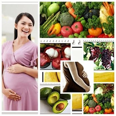 jenis makanan yang dianjurkan untuk wanita hamil