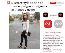 Marie Claire - Elegancia en blanco y negro