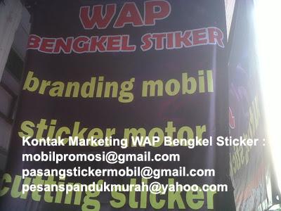 Sticker Mobil Motor