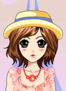 Девочка в кружевах - Онлайн игра для девочек