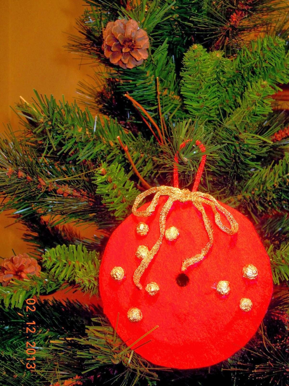 Adornos para el rbol de navidad reciclando cds - Arbol navidad adornos ...