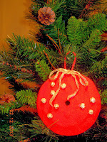 reciclar cd Adorno arbol navidad