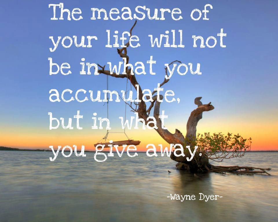 Is Wayne Dyer Love Quotes for Giving