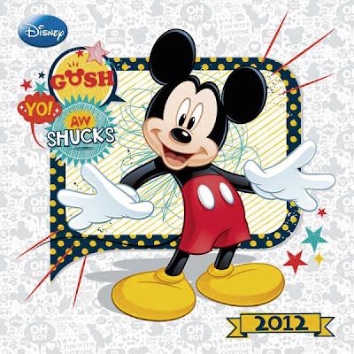 Calendario 2015 Mickey Mouse