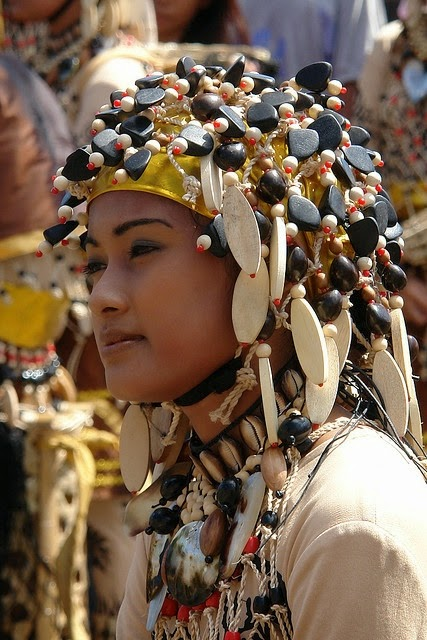 Traditional dress from Sinulog Festival. Philippines. Photo by B.C. Radke