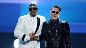 American Music Awards: PSY y MCHammer