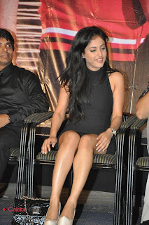 Priya Banerjee  Pictures in Black Mini Dress at Kiss Movie le Song Launch  0045