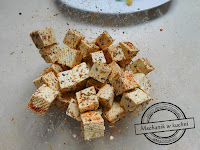 serek tofu sałatka vegetariańska vege salat dresing jogurtu chilli przepis cattering sps catering mechanik w kuchni