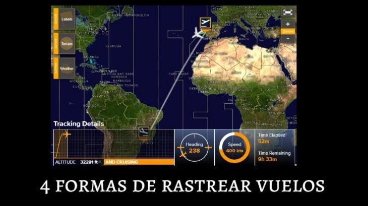 4 Formas de rastrear vuelos