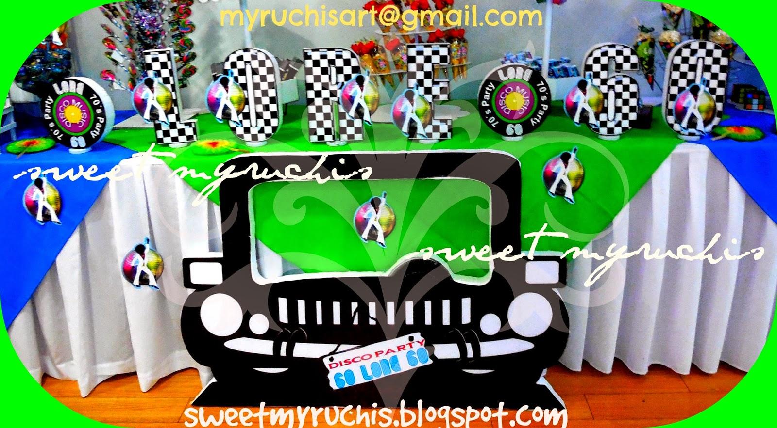 Decoraci n fiestas fiesta disco eventos sweet myruchis - Ideas para discotecas ...