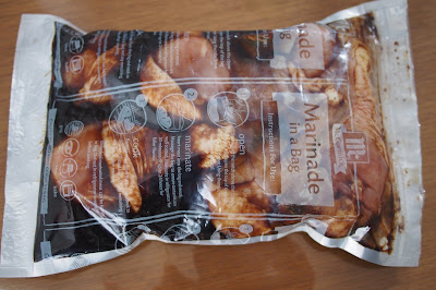 McCormick's Marinade in a bag