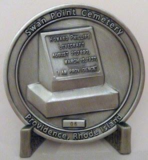 H.P. Lovecraft Commemorative Coin, retro