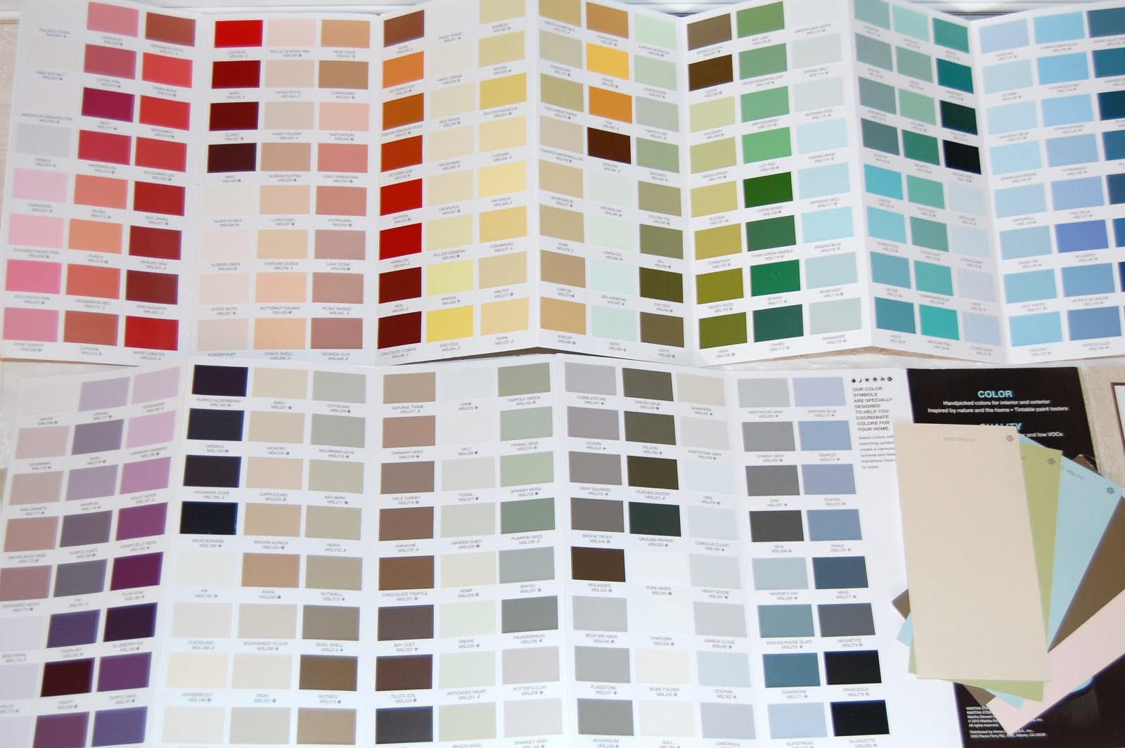 Look At All The Amazing Colors Of Martha Stewart Paint