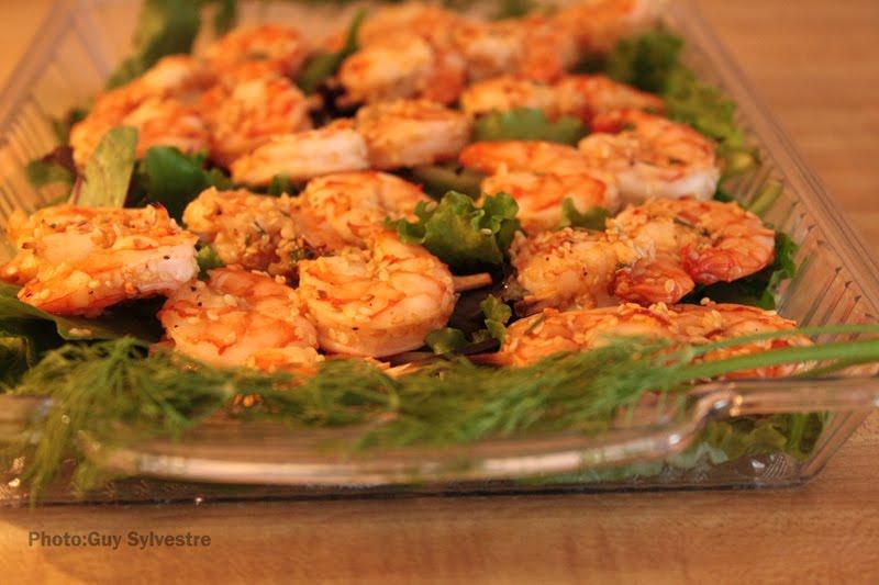 Passeport cuisine crevettes piquantes for Cuisine by claudette
