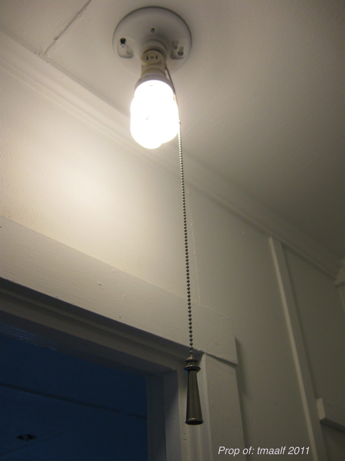 wireless closet lighting. install a wireless light switch pull chain after closet lighting
