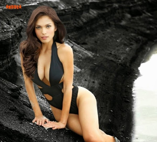 beautiful, exotic, exotic pinay beauties, FHM Magazine, filipina, hot, pinay, pretty, sexy, swimsuit, andrea torres