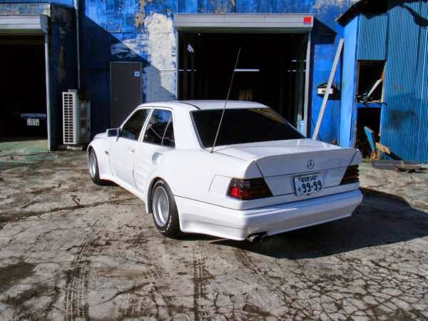 mercedes w124 abc exclusive widebody