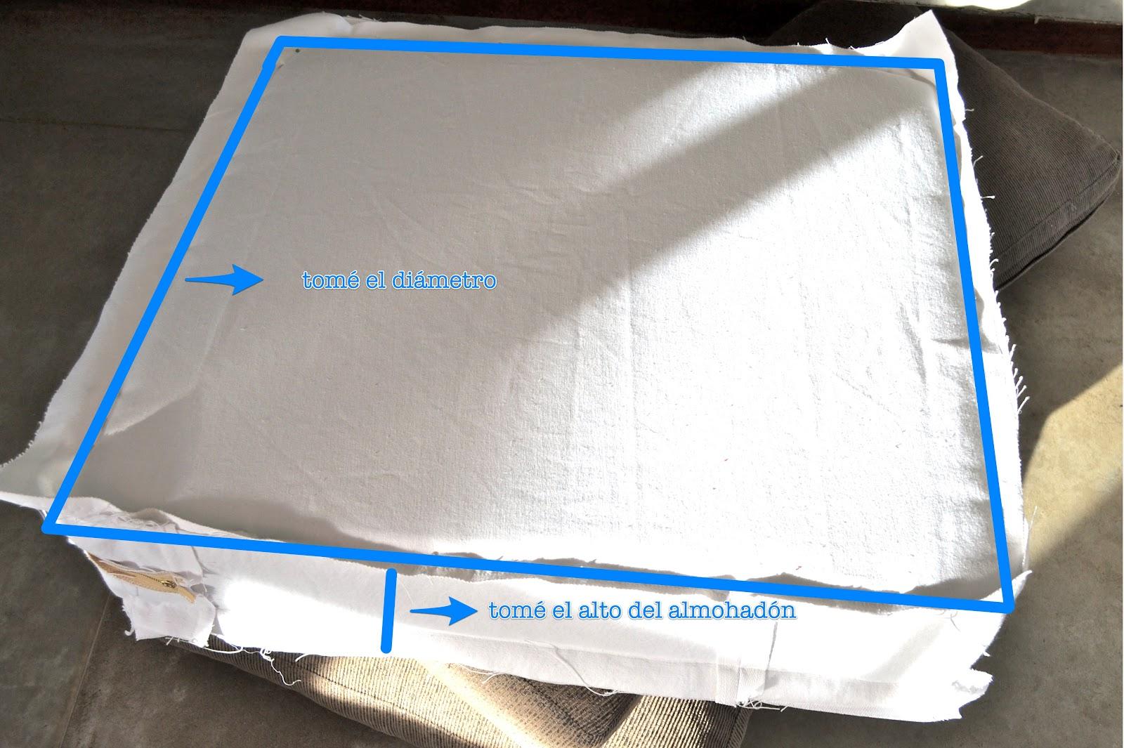 Funda blanca para mi sill n casi tutorial parte 1 lote 93 - Como hacer fundas de sofa paso a paso ...