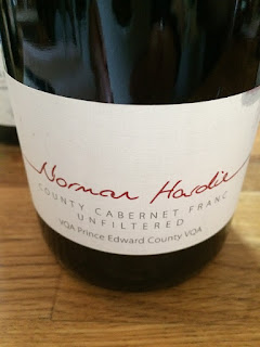Norman Hardie Unfiltered County Cabernet Franc wine