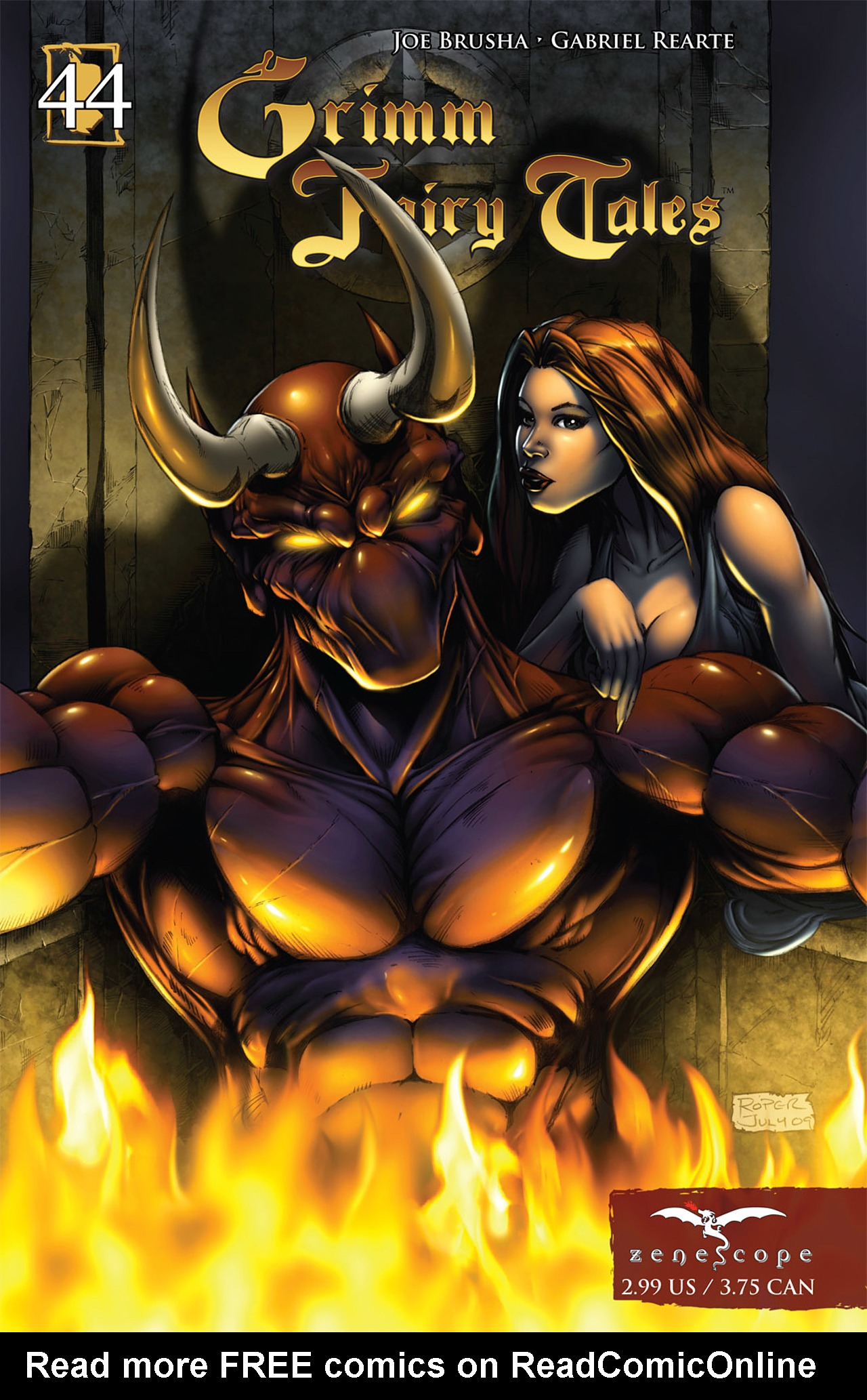 Grimm Fairy Tales (2005) Issue #44 #47 - English 1