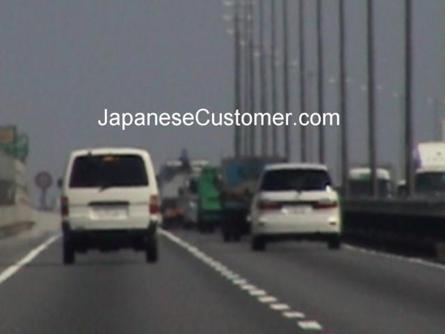 Japanese highway in Tokyo Copyright Peter Hanami 2005