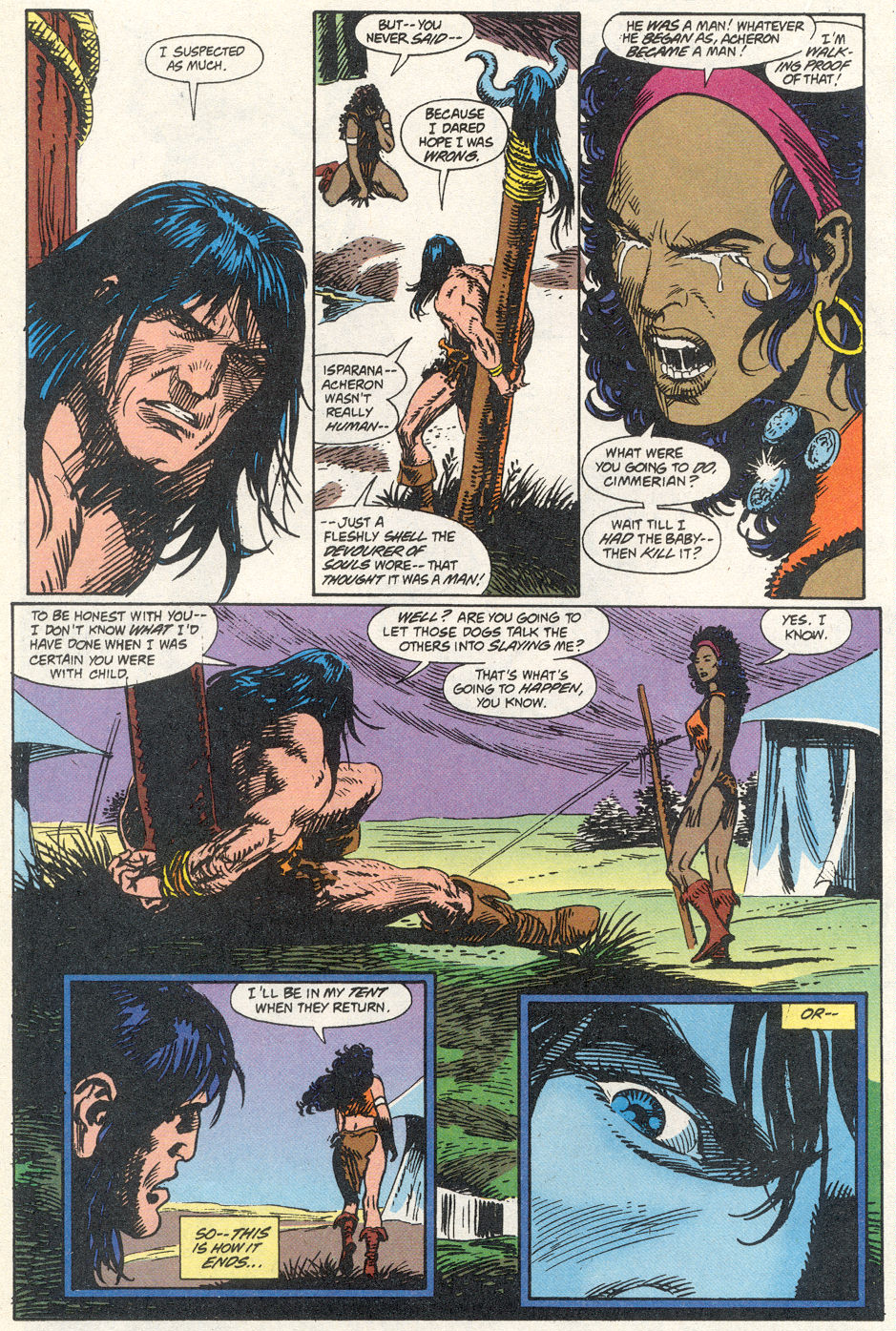 Conan the Barbarian (1970) Issue #275 #287 - English 11