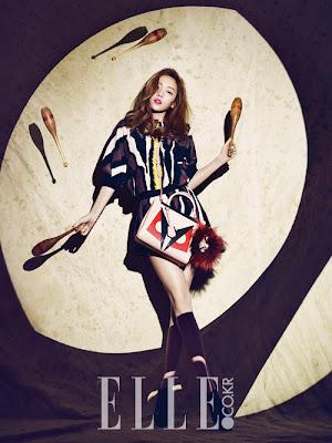 Hara - Elle Magazine December Issue 2013