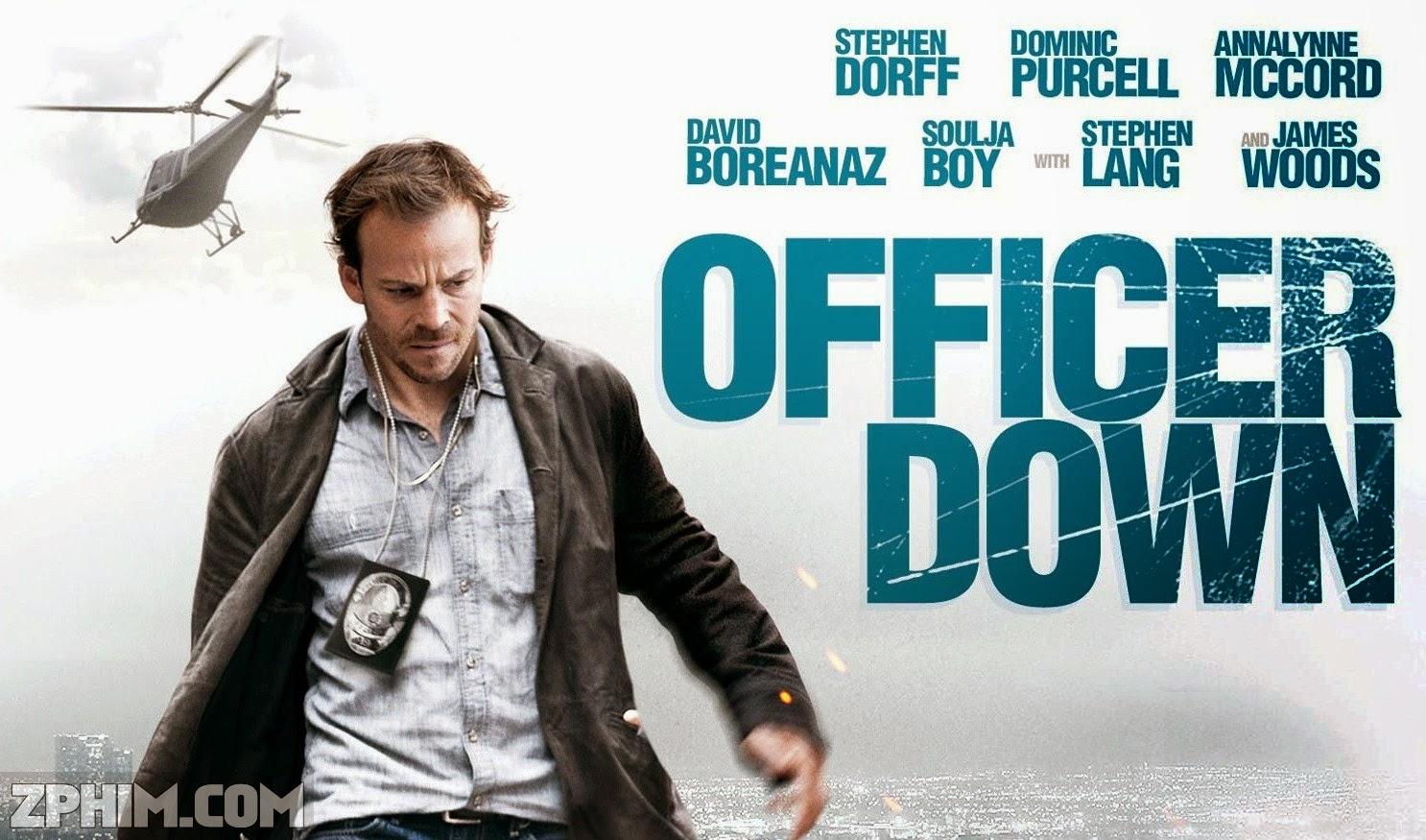 Ảnh trong phim Viên Sĩ Quan - Officer Down 1