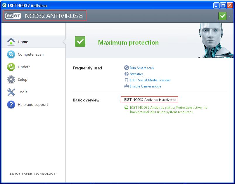 eset nod32 antivirus 8 activation key