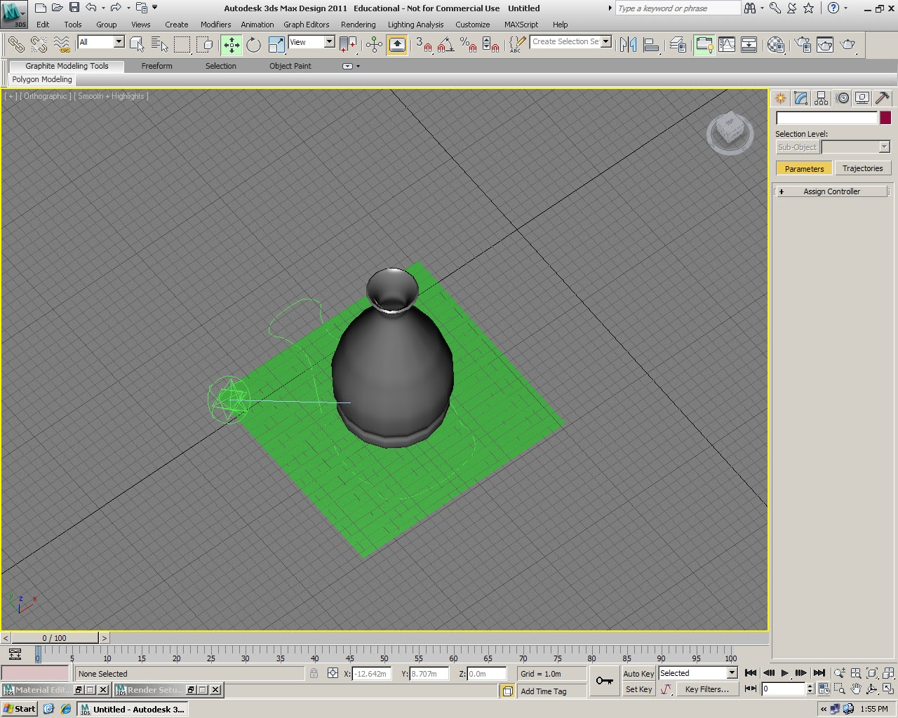 3ds max how to make an eruption