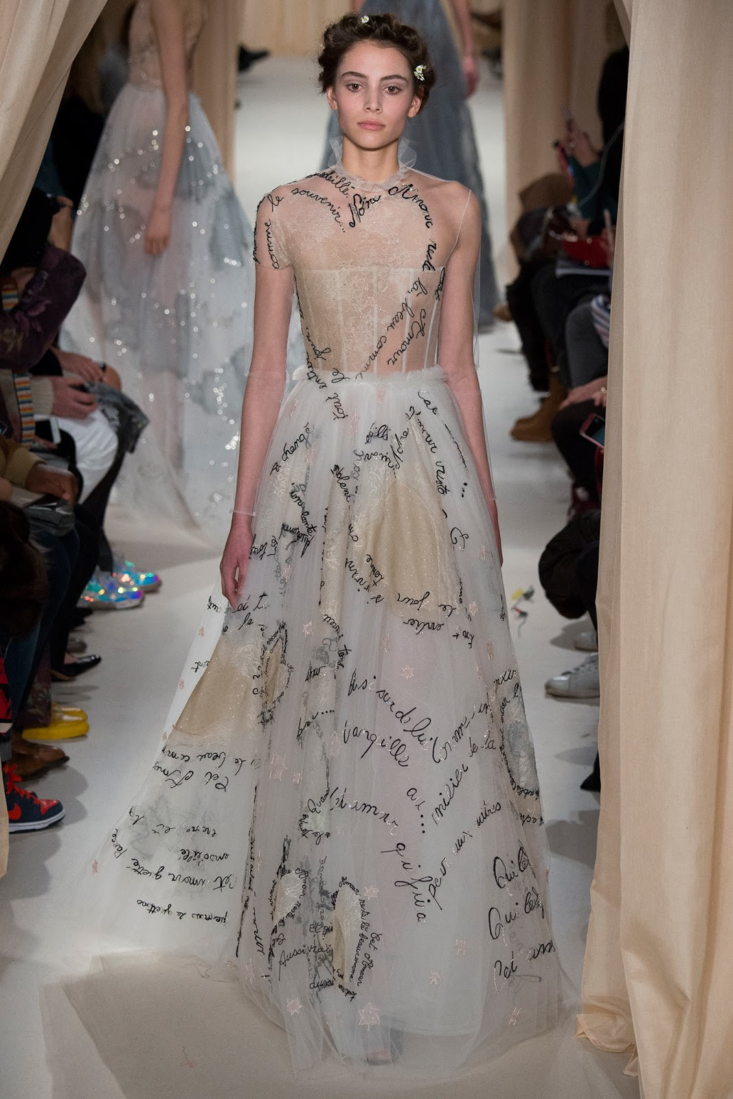Fusion of effects walk the walk valentino haute couture for 2015 haute couture