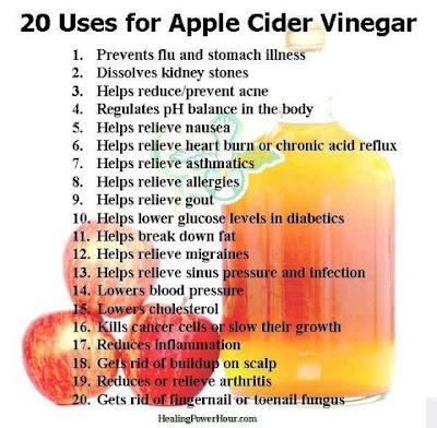 Embody More Light: Apple Cider Vinegar Drink Recipe