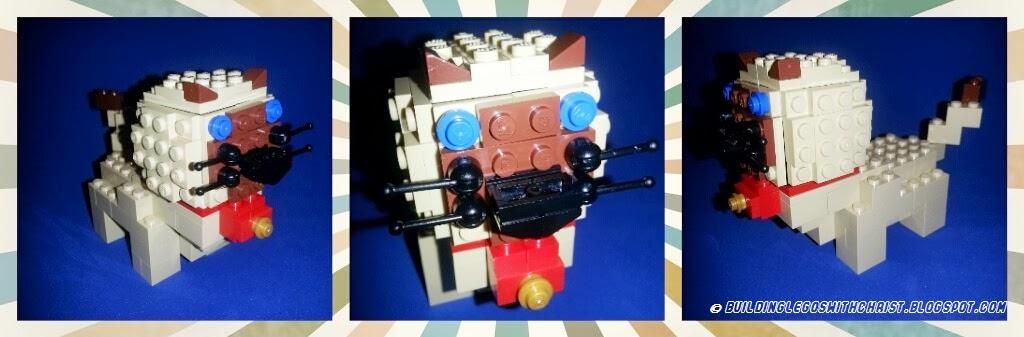 LEGO Siamese Cat Creation