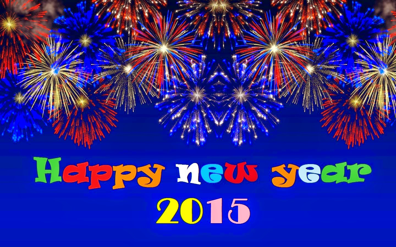 Gambar Desain Kartu Selamat Tahun Baru 2015 Terbaru Ucapan Happy New Year 2015