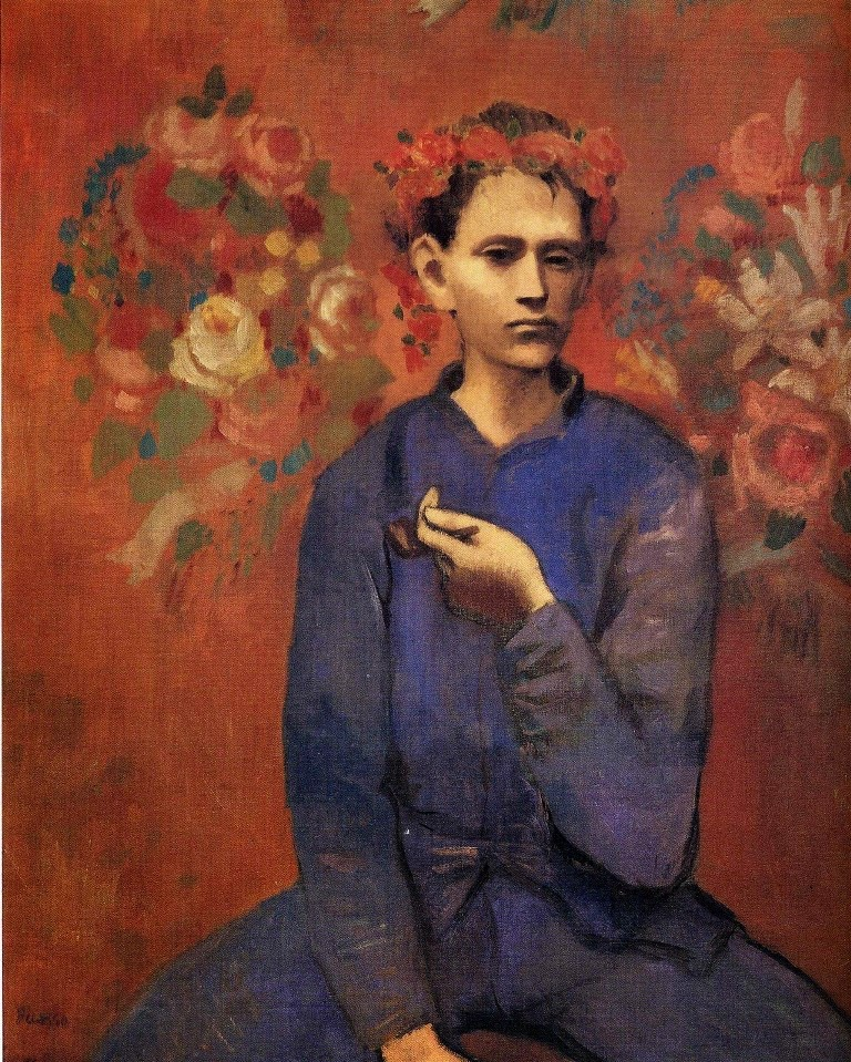 Pablo Picasso Boy with a Pipe