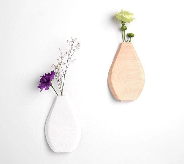 Jarron,papel,paper,vase,paperse,cauca,korea,corea,flores,flowers,plegar,fold,doblar,blanco,white,madera,wood,pared,wall