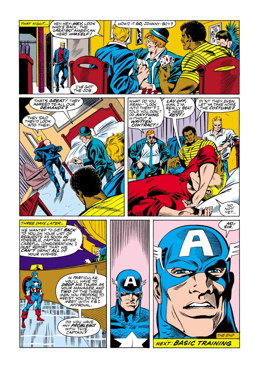 Captain America (1968) Issue #333 #262 - English 23