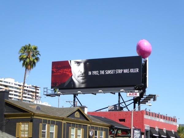 Ed Westwick Wicked City series premiere billboard