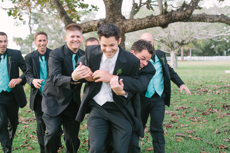 groomsmen palm beach florida wedding photo