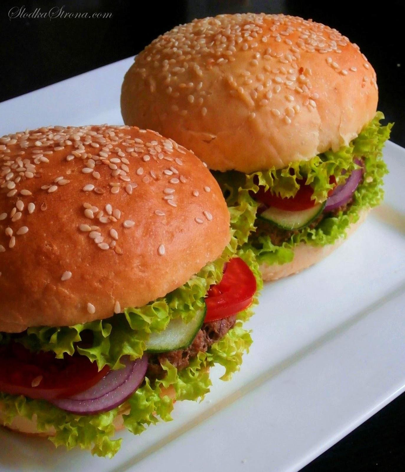 domowe hamburgery z miesa wolowego