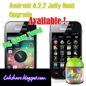 Upgrade Samsung Galaxy Y GT-S5360 ke Android Jelly Bean 4.2 [JellyNoid