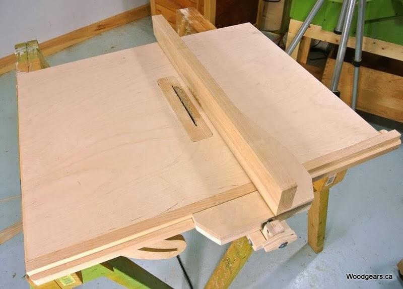 Sierra de mesa de fabricación casera, enredandonogaraxe.com