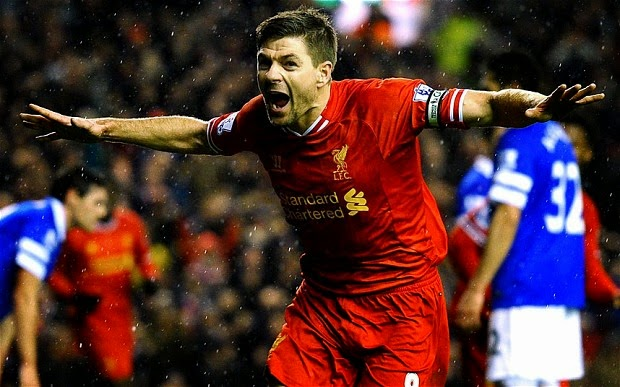 Steven Gerrard Celebration