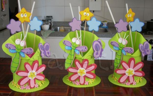 Cotillon de goma eva para fiestas infantiles - Imagui