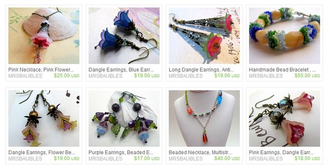 Handmade Jewelry and Seed Bead Jewelry at Etsy.com