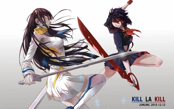 Kiryuin vs Ryuko Kill la Kill 43
