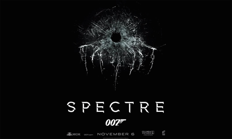 Bond 24 Spectre Teaser Artwork