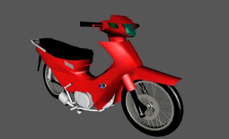 MOTO PISTERA GTA Yamaha Crypton